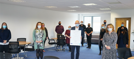 CTS Sign the Building Mental Health Charter