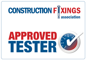 Construction Fixings Association - Approved Tester Logo