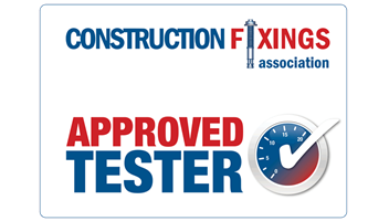 Construction Fixings Association Approved Tester Logo