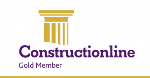 Constructionline Gold Member Accreditation Logo